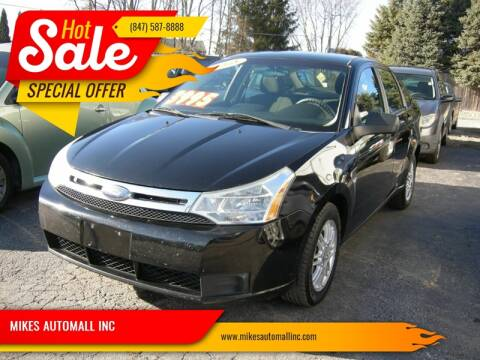 2008 Ford Focus for sale at MIKES AUTOMALL INC in Ingleside IL