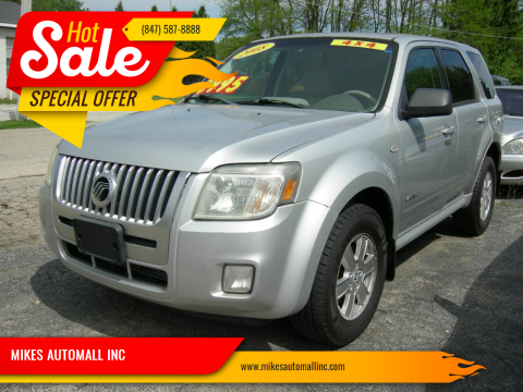 2008 Mercury Mariner V6 for sale at MIKES AUTOMALL INC in Ingleside IL