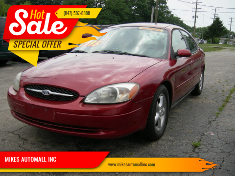 2000 Ford Taurus for sale at MIKES AUTOMALL INC in Ingleside IL