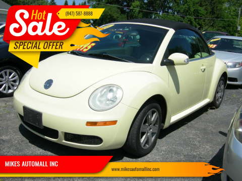 2006 Volkswagen New Beetle Convertible for sale at MIKES AUTOMALL INC in Ingleside IL