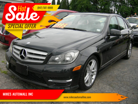 2013 Mercedes-Benz C-Class for sale at MIKES AUTOMALL INC in Ingleside IL