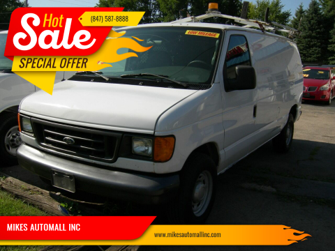 2006 Ford E-Series Cargo for sale at MIKES AUTOMALL INC in Ingleside IL