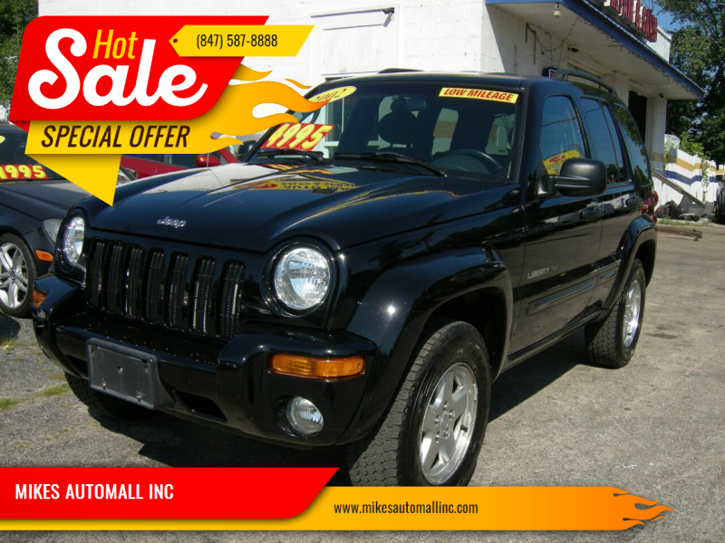 2002 Jeep Liberty for sale at MIKES AUTOMALL INC in Ingleside IL