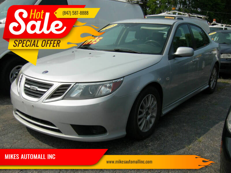 2008 Saab 9-3 for sale at MIKES AUTOMALL INC in Ingleside IL