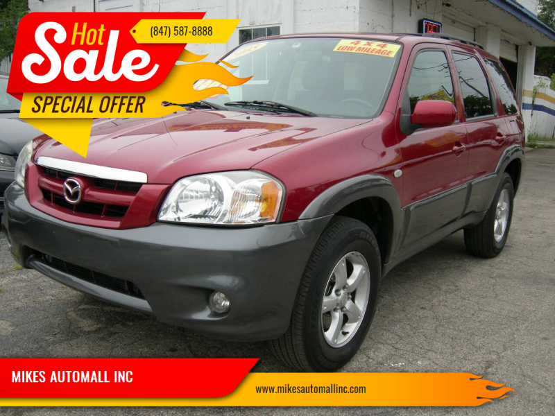 2005 Mazda Tribute for sale at MIKES AUTOMALL INC in Ingleside IL