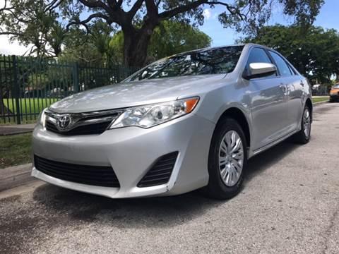 2013 Toyota Camry for sale in Miami, FL