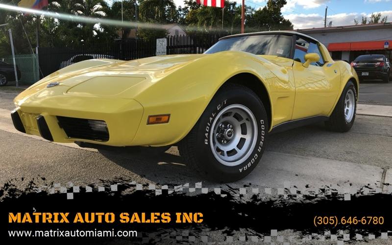 MATRIX AUTO SALES INC – Car Dealer in Miami, FL