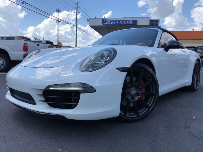2013 Porsche 911 for sale at MATRIX AUTO SALES INC in Miami FL