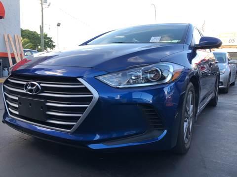 2018 Hyundai Elantra for sale at MATRIX AUTO SALES INC in Miami FL