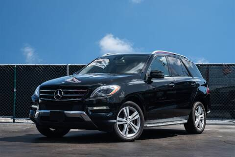 2013 Mercedes-Benz M-Class for sale at MATRIX AUTO SALES INC in Miami FL