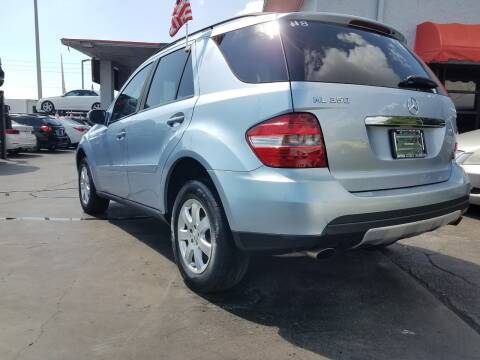 2007 Mercedes-Benz M-Class for sale at MATRIX AUTO SALES INC in Miami FL