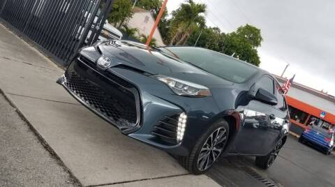 2019 Toyota Corolla for sale at MATRIX AUTO SALES INC in Miami FL