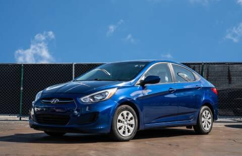 2017 Hyundai Accent for sale at MATRIX AUTO SALES INC in Miami FL