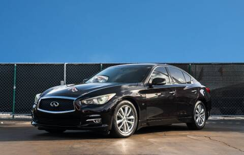 2014 Infiniti Q50 for sale at MATRIX AUTO SALES INC in Miami FL
