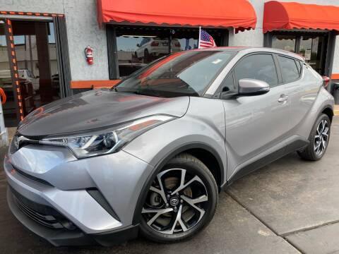 2018 Toyota C-HR for sale at MATRIX AUTO SALES INC in Miami FL