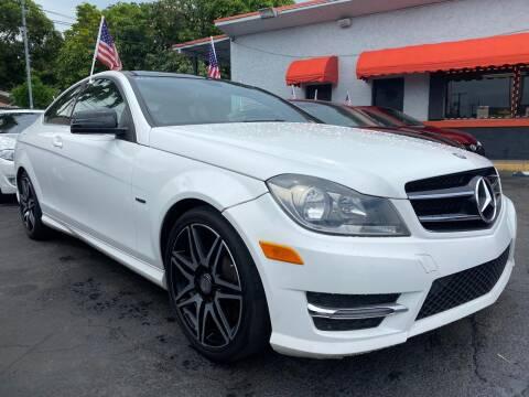 2014 Mercedes-Benz C-Class for sale at MATRIX AUTO SALES INC in Miami FL