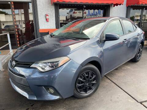 2014 Toyota Corolla for sale at MATRIX AUTO SALES INC in Miami FL