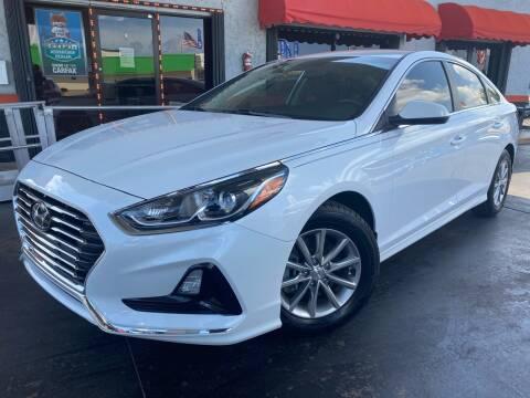 2018 Hyundai Sonata for sale at MATRIX AUTO SALES INC in Miami FL