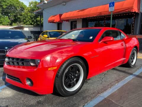2013 Chevrolet Camaro for sale at MATRIX AUTO SALES INC in Miami FL