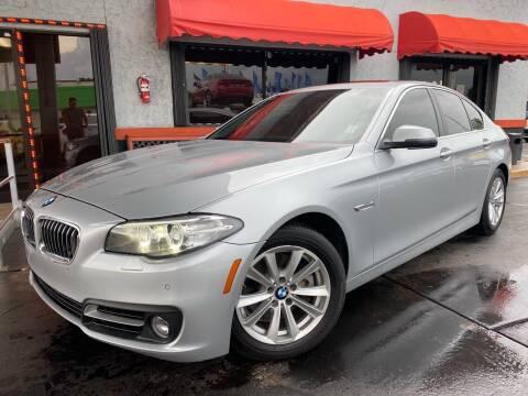 2016 BMW 5 Series for sale at MATRIX AUTO SALES INC in Miami FL