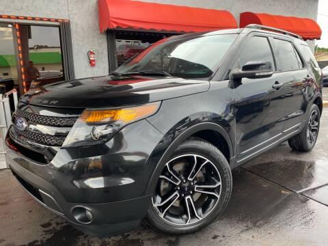 2015 Ford Explorer for sale at MATRIX AUTO SALES INC in Miami FL