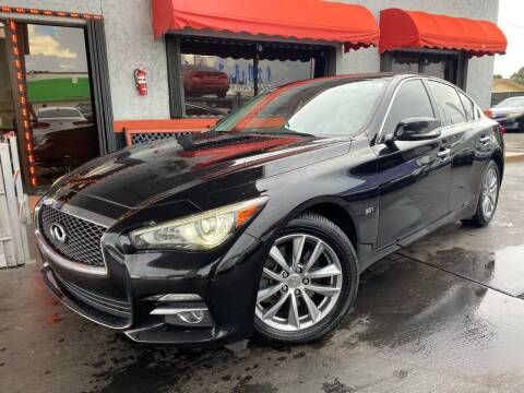 2016 Infiniti Q50 for sale at MATRIX AUTO SALES INC in Miami FL