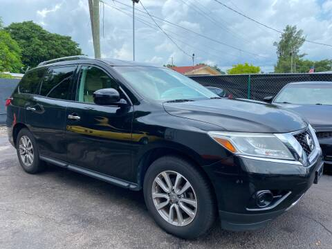 2014 Nissan Pathfinder for sale at MATRIX AUTO SALES INC in Miami FL
