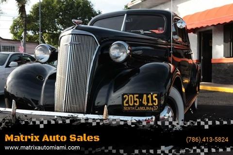 1937 Chevrolet Master Deluxe for sale in Miami, FL