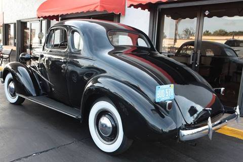 1937 Chevrolet Master Deluxe for sale at MATRIX AUTO SALES INC in Miami FL