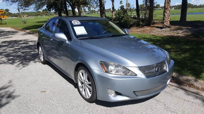 2007 Lexus IS 250 For Sale At GREENWISE MOTORS In Melbourne FL