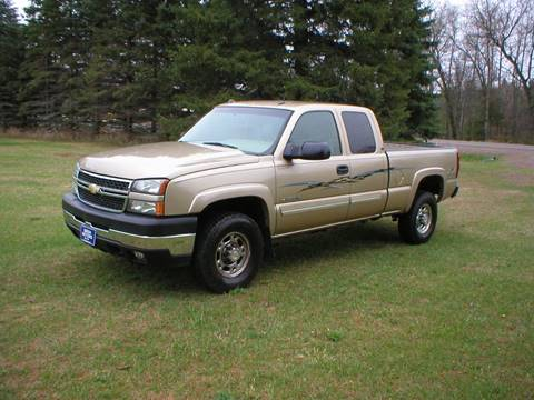 2005 Chevrolet Silverado 2500HD for sale in Siren, WI