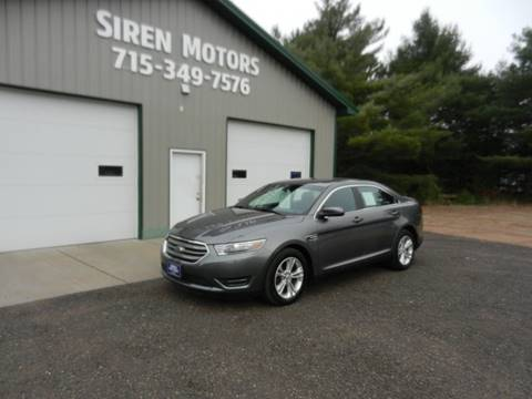2013 Ford Taurus for sale in Siren, WI