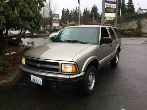 1999 Chevrolet Blazer for sale at Seattle Motorsports in Shoreline WA