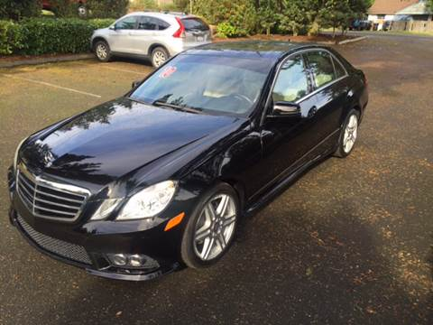 2010 Mercedes-Benz E-Class for sale at Seattle Motorsports in Shoreline WA