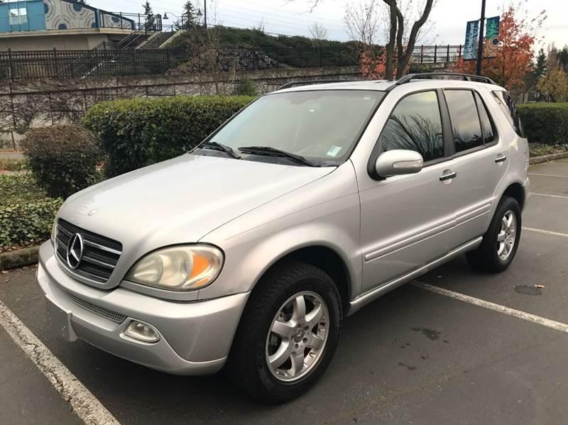 2004 mercedes ml500