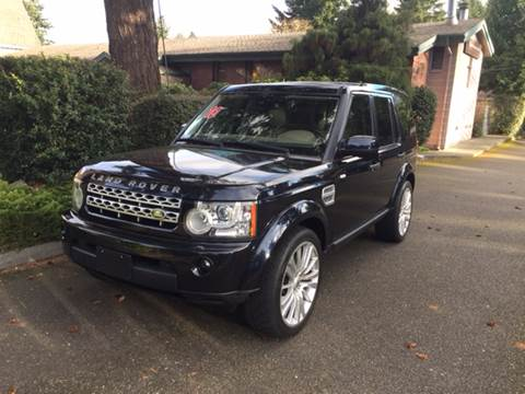 2010 Land Rover LR4 for sale at Seattle Motorsports in Shoreline WA