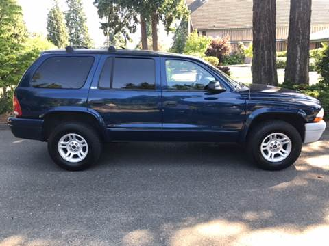 2002 Dodge Durango for sale in Shoreline, WA