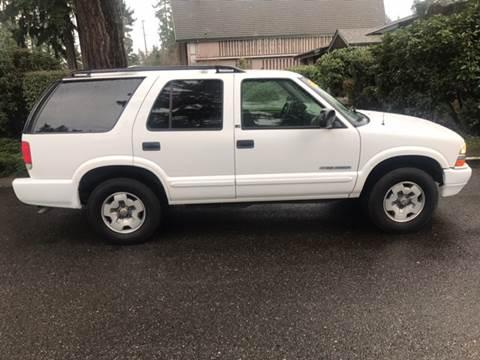 2003 Chevrolet Blazer for sale at Seattle Motorsports in Shoreline WA