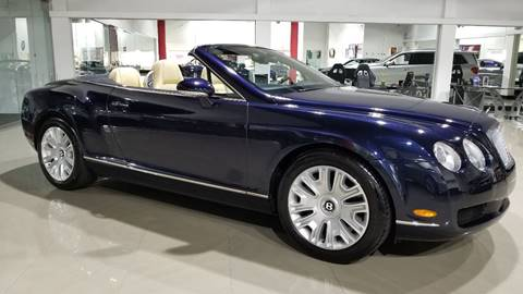 2007 Bentley Continental GTC for sale in Miami, FL