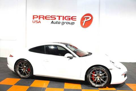 2013 Porsche 911 for sale at Prestige USA Auto Group in Miami FL