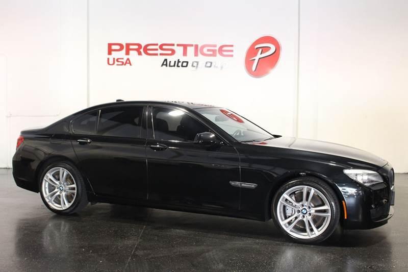 2012 BMW 7 Series for sale at Prestige USA Auto Group in Miami FL
