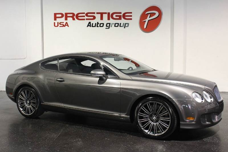 2008 bentley continental gt speed base awd 2dr coupe in miami fl prestige usa sport cars inc. Black Bedroom Furniture Sets. Home Design Ideas