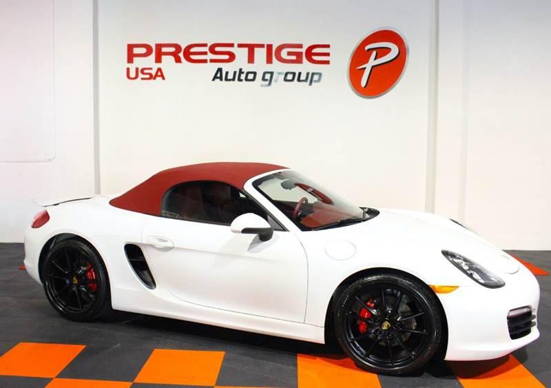 2016 Porsche Boxster for sale at Prestige USA Auto Group in Miami FL