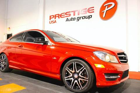 2013 Mercedes-Benz C-Class for sale at Prestige USA Auto Group in Miami FL
