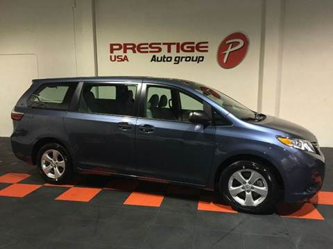 2015 Toyota Sienna for sale at Prestige USA Auto Group in Miami FL