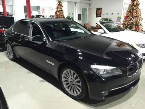 2012 BMW 7 Series for sale at Prestige USA Auto Group in Miami FL
