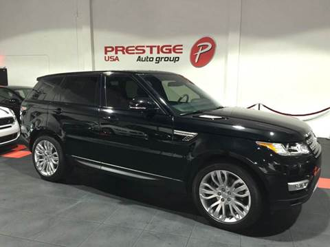 2015 Land Rover Range Rover Sport for sale at Prestige USA Auto Group in Miami FL