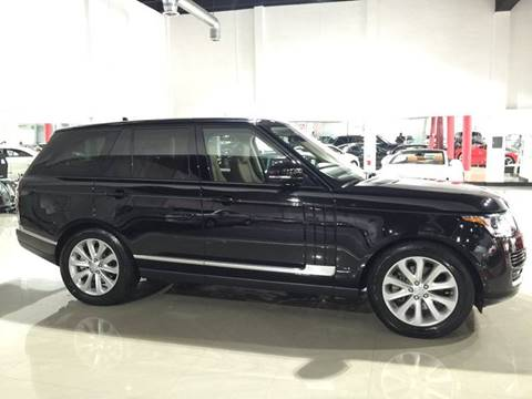 2016 Land Rover Range Rover for sale at Prestige USA Auto Group in Miami FL