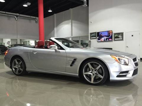 2013 Mercedes-Benz SL-Class for sale at Prestige USA Auto Group in Miami FL