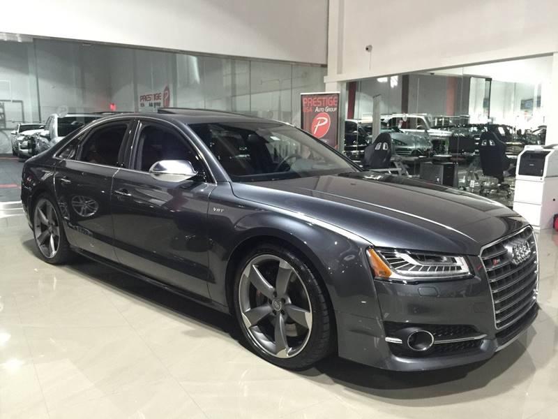 2015 Audi S8 for sale at Prestige USA Auto Group in Miami FL